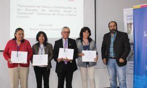 Dirigentes sociales se certificaron en Proyecto de Gestión Social en la Ufro